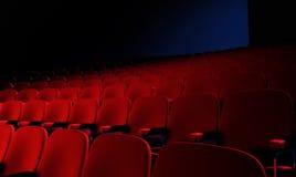 Theater-Stühle Lizenzfreie Stockbilder