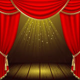 Theater stage Stock Photos