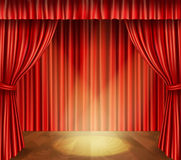 Theater stage background Royalty Free Stock Photos