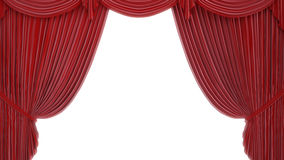 Theater or stage curtain Stock Photography