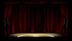 Theater Stage Stock Photography