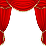 Theater stage. Mesh. Royalty Free Stock Photos
