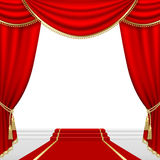 Theater stage. Mesh. Stock Image