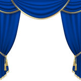 Theater stage. Mesh. Stock Photography