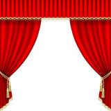 Theater stage. Mesh. Royalty Free Stock Images