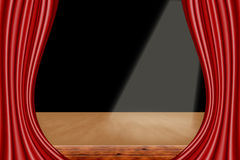A theater stage Royalty Free Stock Photo