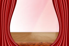 A theater stage Royalty Free Stock Photography