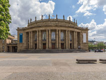 Theater Stuttgart royalty-vrije stock foto