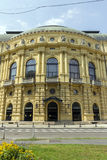 Theater in Szeged royalty-vrije stock afbeelding