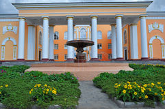 Theater in Temirtau Royalty Free Stock Photography
