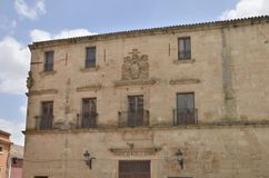 Theater in Trujillo Stock Foto's