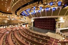 Theater und Stufe Stockbild