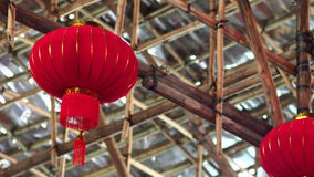 Theater van de het bamboe het Chinese Opera van het westenkowloon in Hong Kong Stock Afbeeldingen