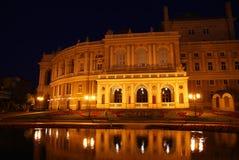 Theater van de Opera van Odessa het Nationale. Stock Afbeelding