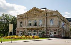 Theater van de stad van Baden - Baden stock foto's