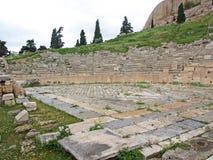 Theater van Dionysos royalty-vrije stock afbeeldingen