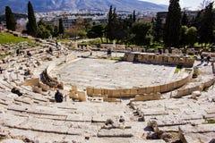 Theater van Dionysus Athene royalty-vrije stock foto