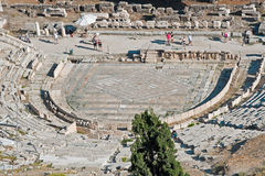 Theater van Dionysus Eleuthereus in Athene stock afbeelding