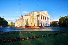 Theater van het Kaliningrad het Regionale Drama Stock Fotografie