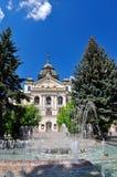 Theater van J Borodac met fontein Royalty-vrije Stock Foto