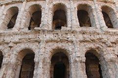 Theater van Marcellus, Rome Italië Stock Afbeelding