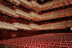 Theater venue Royalty Free Stock Image