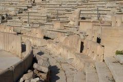 Theater von Dionysus Stockbild