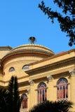 Theater von Palermo, Massimo, neoklassisch stockbild