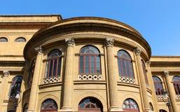 Theater von Palermo, Massimo, neoklassisch stockfoto