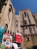 Theaterfestival in Avignon, Frankreich, Juli 2012 Stockbild