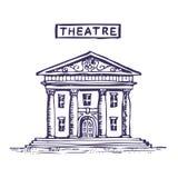 Theatergebäude Stockfotografie
