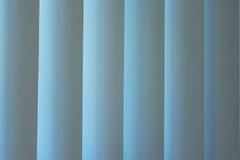 Theatergordijnen in vensterlicht Royalty-vrije Stock Afbeeldingen