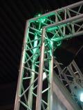 Theaterkonzert-Stufe-Leuchten Stockbild