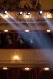 Theaterlichten Royalty-vrije Stock Foto's