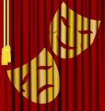Theaterschablonen Lizenzfreie Stockfotografie