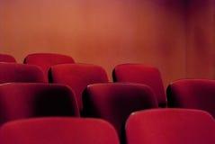 Theatersitzplätze stockfoto