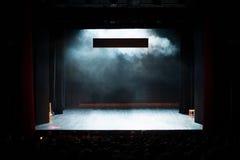 Theaterspiel Stockbild