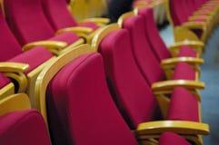 Theaterstuhl Stockbild