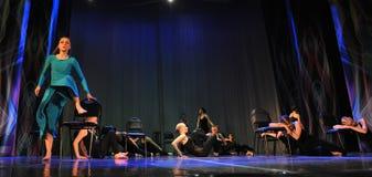 Theatertanzleistung Lizenzfreies Stockbild