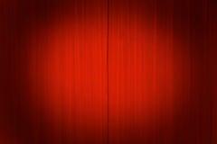 Theatertrennvorhänge mit einem Scheinwerfer Lizenzfreie Stockfotografie
