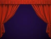 Theatertrennvorhang. Lizenzfreies Stockbild