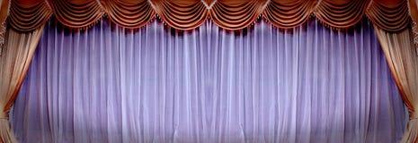 Theatertrennvorhang Lizenzfreie Stockfotografie