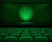Theaterzaal Royalty-vrije Stock Foto