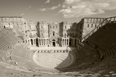 Theather of Bosra, Syria Royalty Free Stock Photography