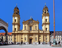The Theatine Church in Munich, Germany Royalty Free Stock Images