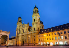 Theatine Church of St. Cajetan in Munich Royalty Free Stock Photo