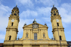 Theatine Church Royalty Free Stock Photo