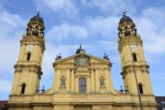 Theatine Church Royalty Free Stock Photo