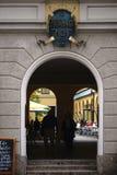 Theatinerhof Μόναχο Στοκ Εικόνα