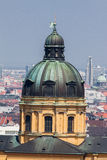 Theatinerkirche Church Munich Germany Stock Photo